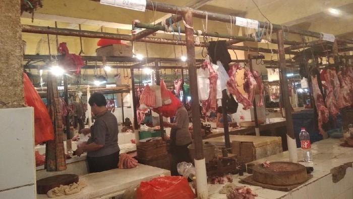 Pasar Kebayoran Lama buka kembali hari ini (Foto: Jehan/detikcom)
