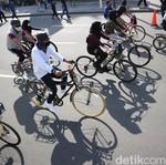 Viral, Pesepeda Ambil Jalur Tengah Sebabkan Kecelakaan
