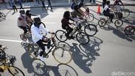 Menteng Zona Merah, Kawasan Khusus Pesepeda Dipindah ke Kemayoran