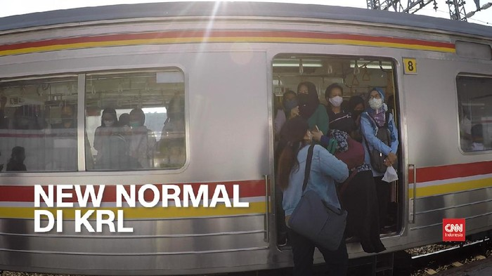 Thumbnail video new normal di KRL