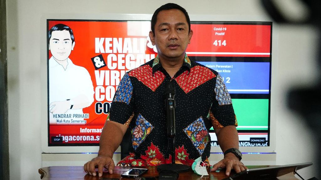 PKM Kota Semarang Diperpanjang, Tes Massal Corona Tetap Berjalan