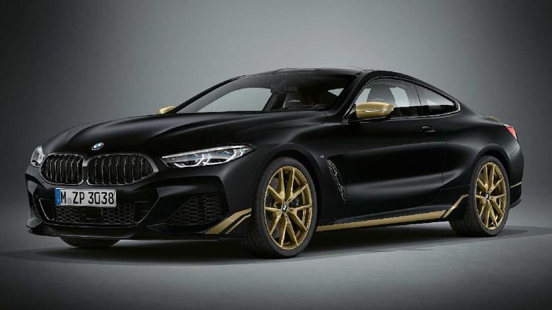 BMW Seri 8 Goldern Thunder Edition