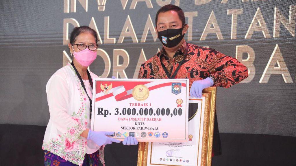 Konsep Tatanan Normal Baru Semarang Raih Penghargaan Kemendagri