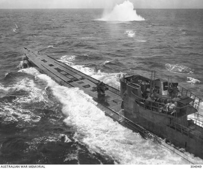 Ilustrasi: Kapal selam U-boat Nazi Jerman, jenis IXC, sekitar tahun 1943 (Public Domain/Australian War Memorial)