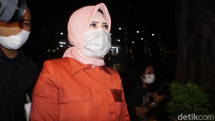 Istri eks Sekretaris Mahkamah Agung (MA) Nurhadi, Tin Zuraida.