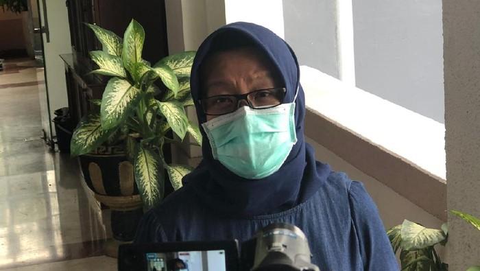 Kabid Pencegahan Gugus Tugas Percepatan Penanganan COVID-19 Surabaya Febria Rachmanita