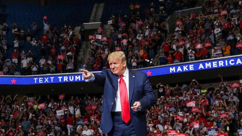 Tim Sukses Trump Bantah Jumlah Peserta Kampanye Dimanipulasi Pengguna TikTok
