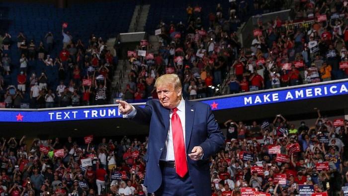 Kampanye Trump: Tim sukses bantah jumlah peserta dimanipulasi pengguna Tiktok dan fans K-Pop