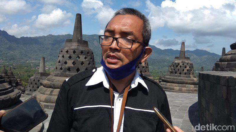 Kepala Seksi Konservasi, Balai Konservasi Borobudur, Yudi Suhartono