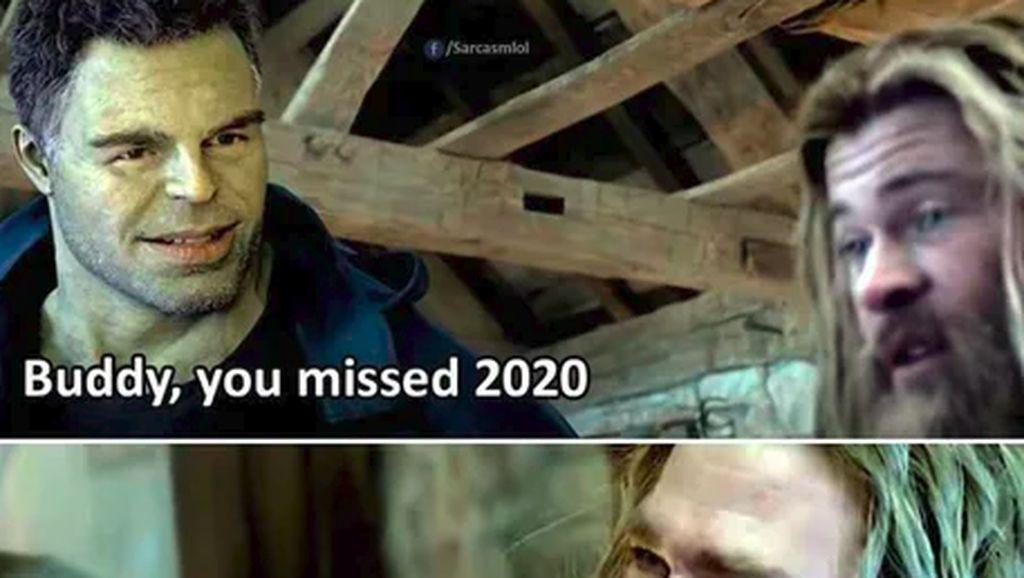 Meme Gambaran Kerasnya Hidup di Tahun 2020, Tetap Semangat!