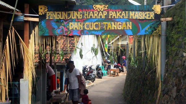 Namun sebelum mulai main air, jangan lupa pakai masker dan cuci tangan dulu ya! (Muhamad Rizal/detikcom)