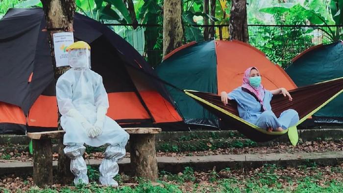 Lokasi Outbond atau camping Outdoor di RSUD Sekayu