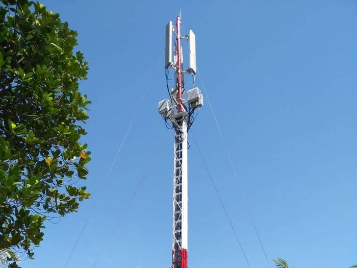 Menara 4G Telkomsel di Wakatobi