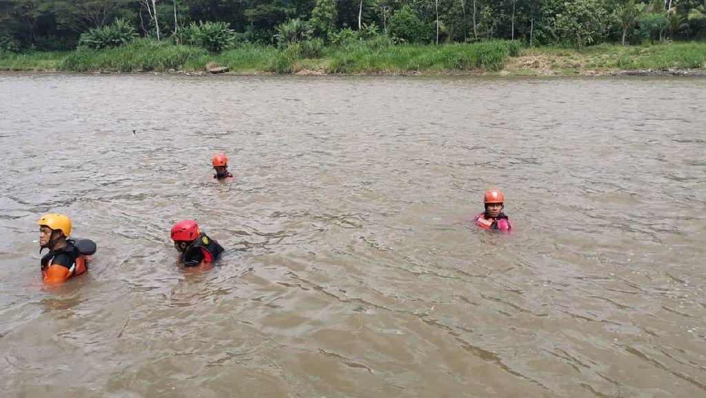 Sandalnya Ditemukan Terapung di Sungai Progo, Bocah Ini Hilang Diduga Hanyut