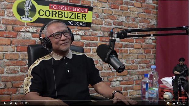 Puspo Wardoyo bahas poligami dengan Deddy Corbuzier.