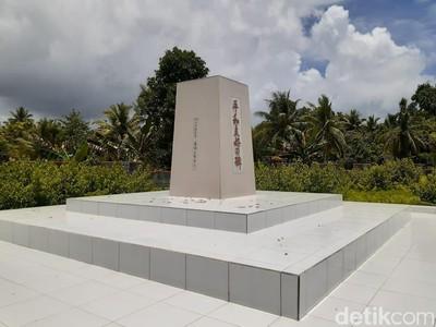 Foto: Tempat Peringatan Perang Dunia II di Papua
