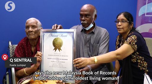 Wanita Tertua di Malaysia