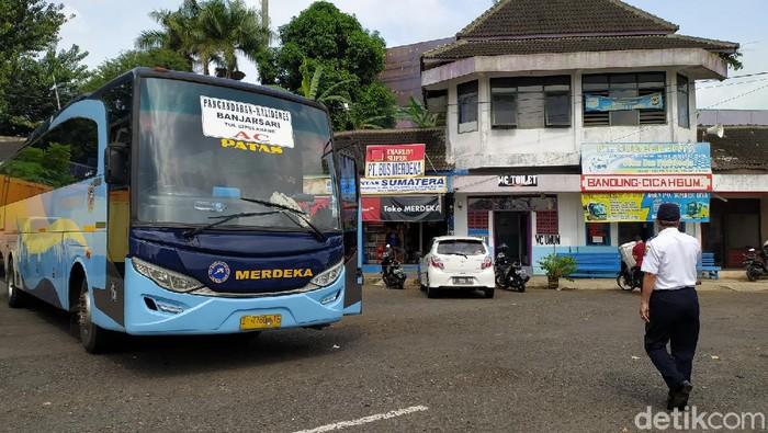Aktivitas Bus di Ciamis