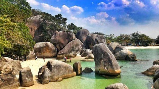 Destinasi di Belitung.