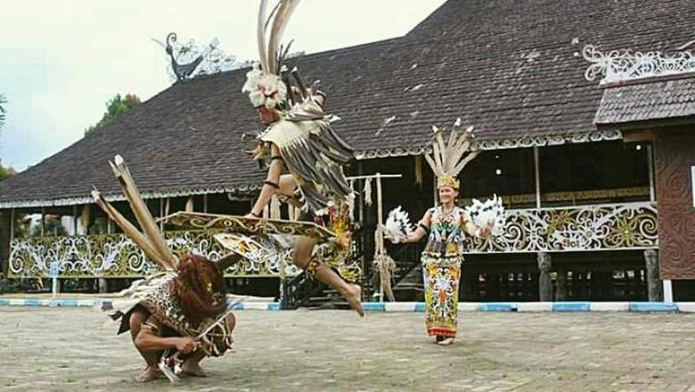 Desa adat di Samarinda.