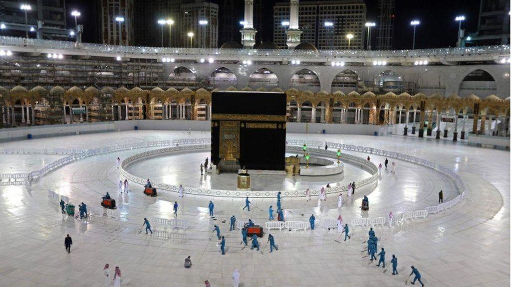 Jelang Haji, 3.500 Petugas Ikut Operasi Bersih-bersih Masjidil Haram