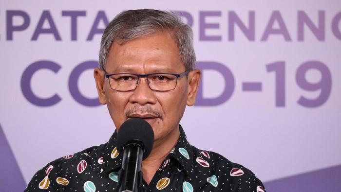 Juru Bicara Penanganan COVID-19 Achmad Yurianto (dok. BNPB)