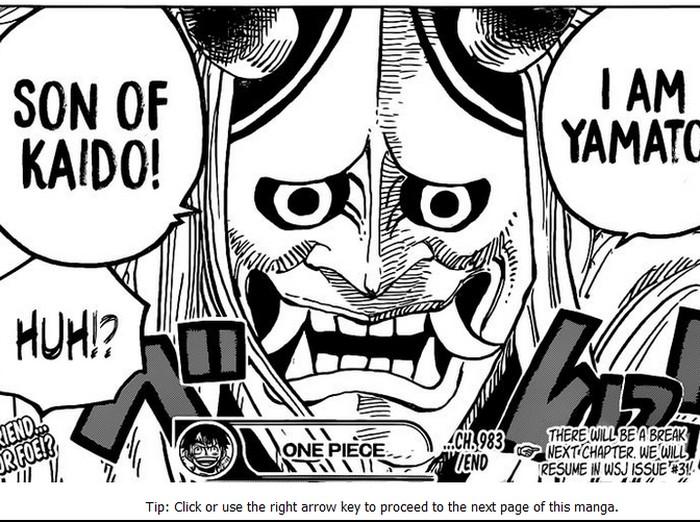 Manga One Piece Chapter 983