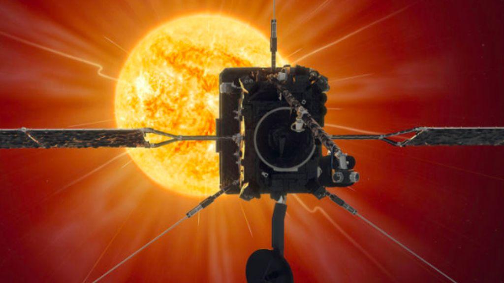 Eropa Berhasil Foto Matahari dari Jarak Terdekat