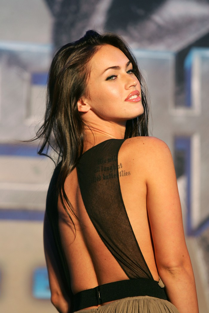 SEOUL, SOUTH KOREA - JUNE 11: Actress Megan Fox attend a photocall before a press conference to promote her new film