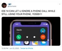 Meme iOS 14