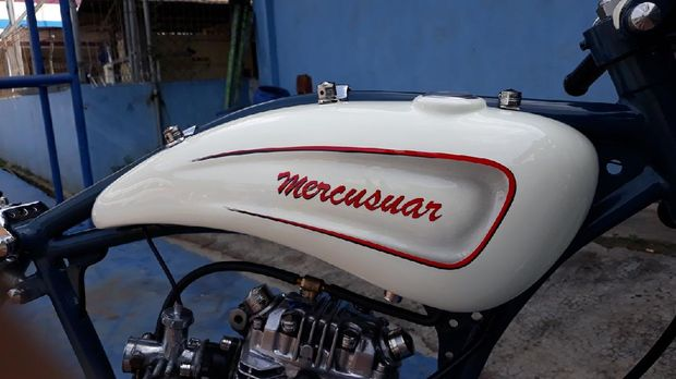Modifikasi Honda GL