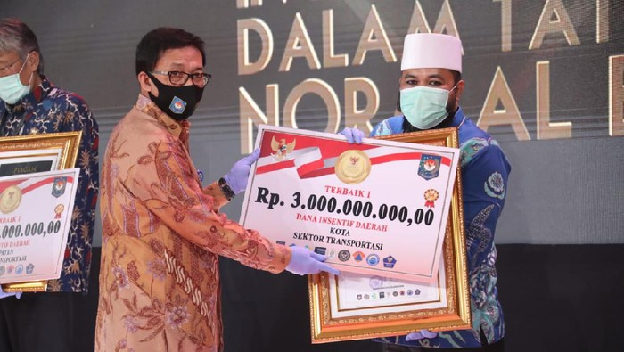 Pemkot Bengkulu juara 1 lomba video inovasi sektor transportasi umum yang digelar Kemendagri (dok. Istimewa)