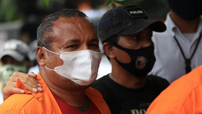Polisi merilis penangkapan John Kei dkk