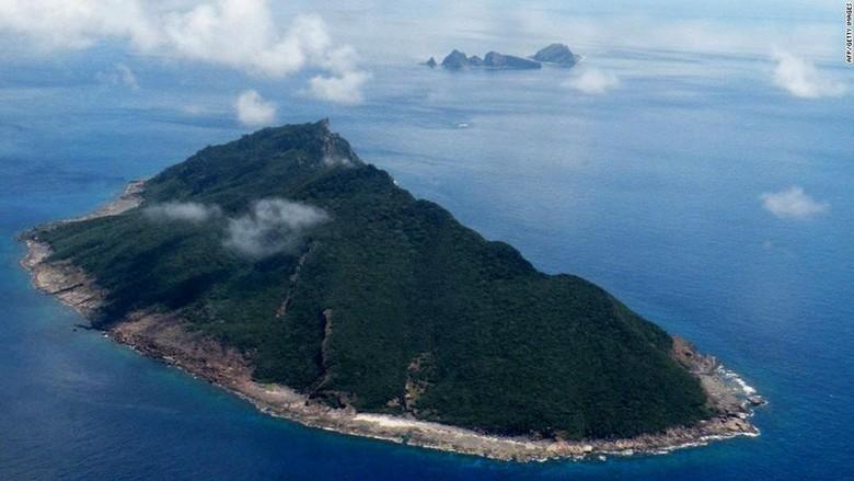 Pulau Senkaku Jepang