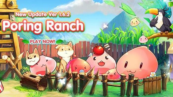 Ragnarok Frontier mendapat update pertamanya yang bernama Poring Ranch.
