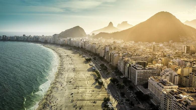 Pantai di Rio de Janeiro