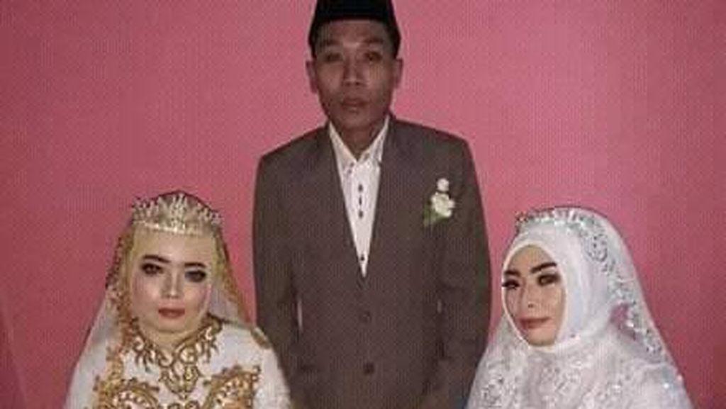 Viral Kisah Pria di Lombok Nikahi 2 Wanita Sekaligus, Mas Kawin Rp 2 Juta