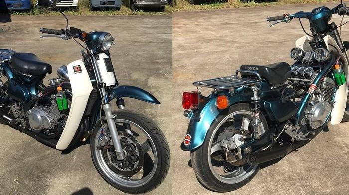 Super Cub Honda 4 Silinder
