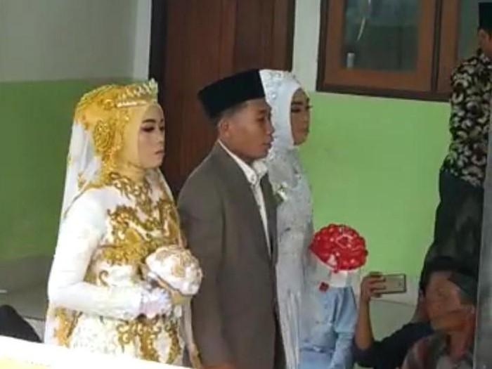 Syaiful Bahri menikahi 2 wanita di Lombok Barat, NTB.