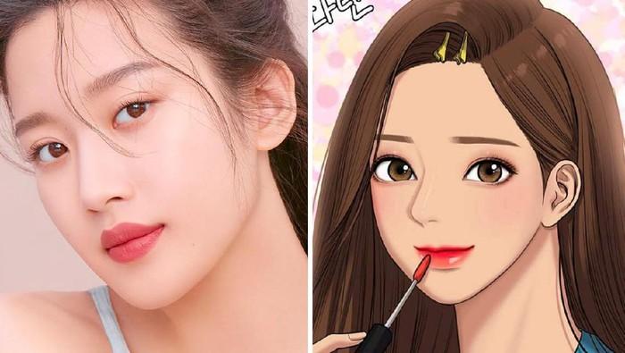 Moon Ga Young True Beauty