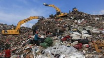 Volume Sampah di TPST Bantargebang Turun