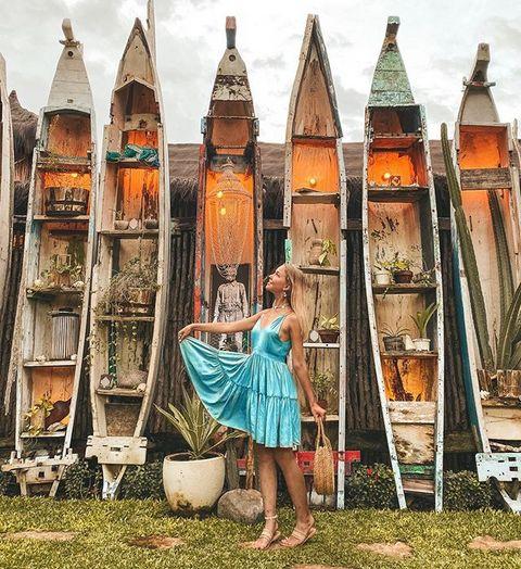 Sosok Influencer Cantik Rusia yang Tewas Kecelakaan Motor di Bali