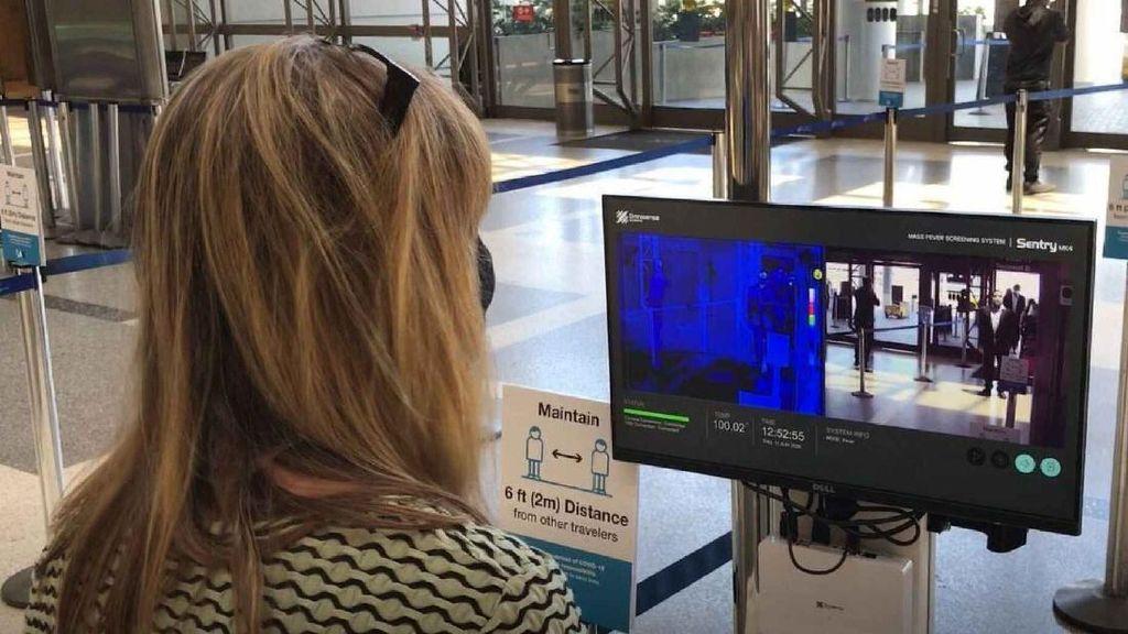 Bandara Los Angeles Pasang Kamera Termal untuk Deteksi Suhu Penumpang