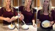 Bikin Telur Orak-Arik Campur Gula dan Krim, Wanita Ini Dikecam