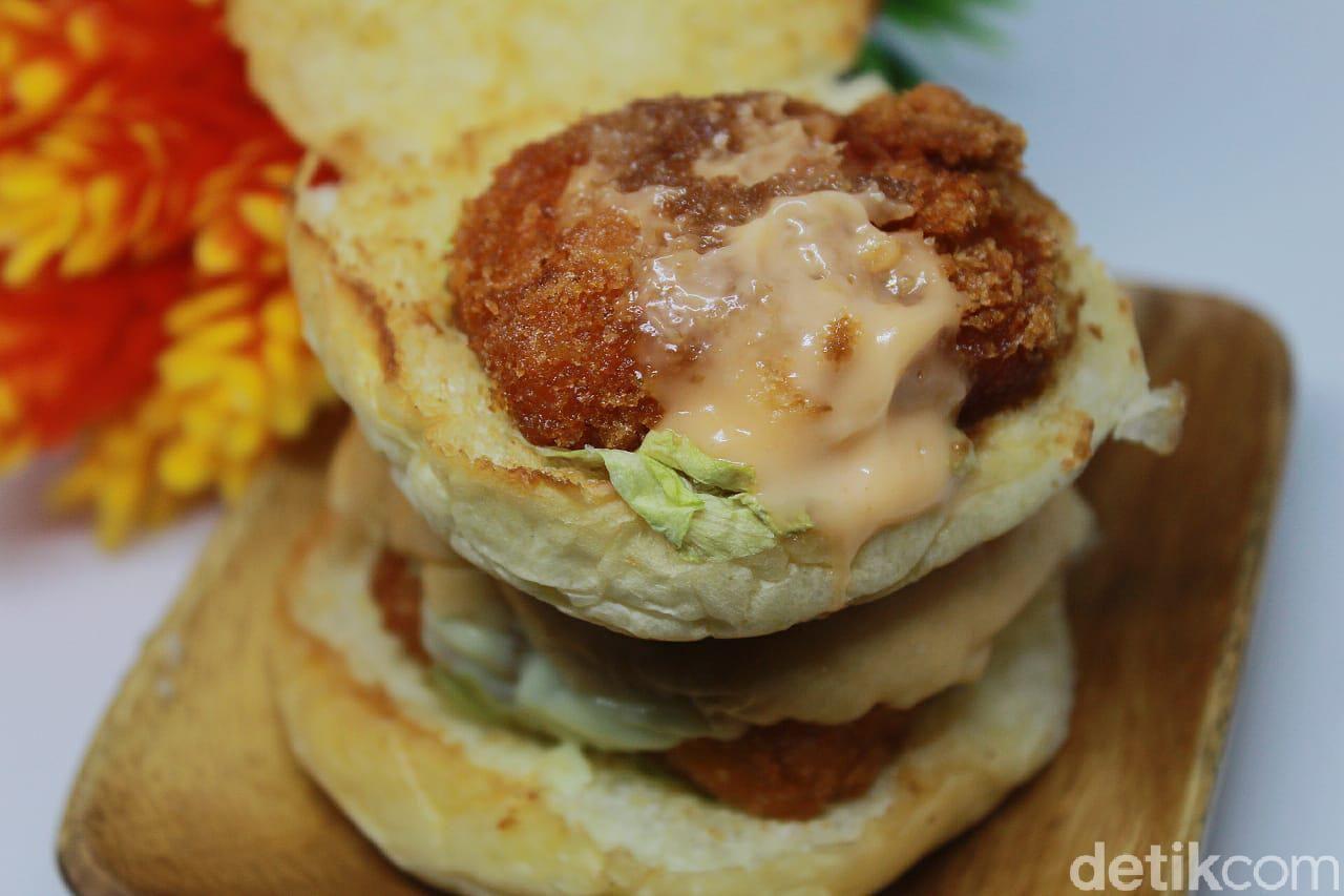 Burger mini dari Ms Crabs