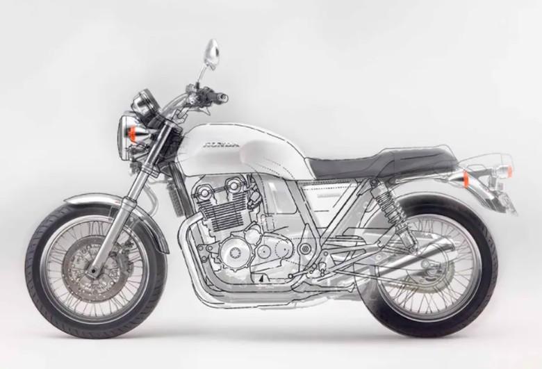 Honda CB750 matik