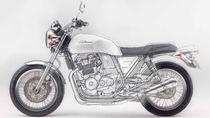Honda Kenalkan CB750 Tanpa Kopling
