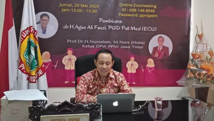 Ketua DPW Persatuan Perawat Nasional Indonesia (PPNI) Jatim, Prof Nursalam