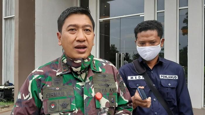 Komandan Lanud SMH Palembang, Kolonel Pnb Firman Wirayuda (Raja Adil-detikcom)