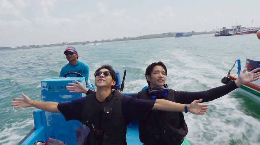Lee Seung Gi dan Jasper Liu di Twogether